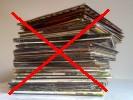 jak neskladovat vinylové desky, skladování vinylových desek na naležato desky a obaly poškozuje