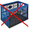 skládací přepravka není určena pro vinylové desky, plastová skládací přepravka není určena na nošení a přepravu vinylů-gramofonových desek