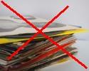 Jak neskladovat vinylové desky, neskladovat vinyly na sobě