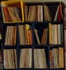 Jak skladovat vinyly v přepravkách, přepravky na desky, jak skladovat vinylové desky v bednách
