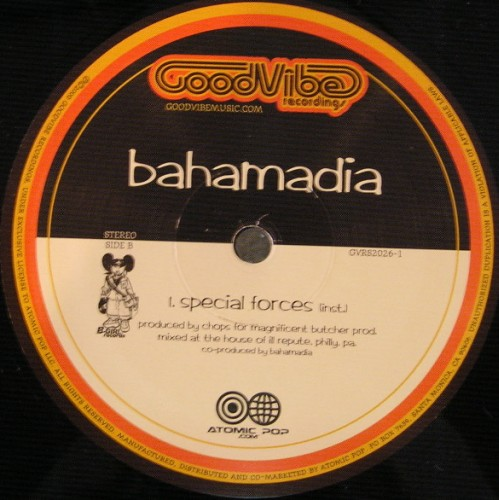 Bahamadia-Special Forces, feat. Planet Asia, Rasco, Chops,DJ Revolution,