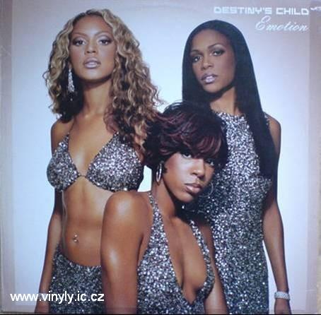 Destinys Child-Emotion vinyl-rmx. Cover - obal vinylové desky s remixy tracku Emotion.