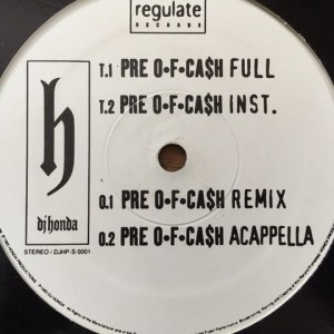 DJ-Honda - Pre Of Cash, vinyl, vinylová deska