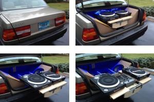 auto dj gramofony