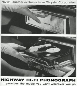 Gramofon do auta,Highway Hi-Fi