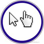 Značka-Klikněte potřebujeme více návštěv webs stránek