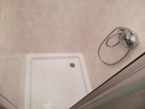 pronájem byty, Praha, sprchový kout, sprchovací hadice.