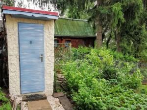 Chata k pronájmu - koupání v přehradě a rybaření v Jesenici - Jesenická přehrada, Druhé WC, splachovací - zděné na zahradě.