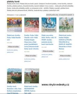 Plakáty koně, sekce jen plakáty koní