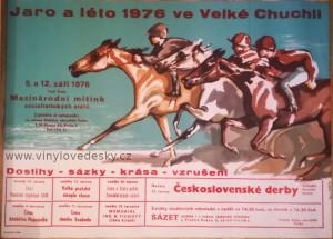 Plakáty koně kreslené