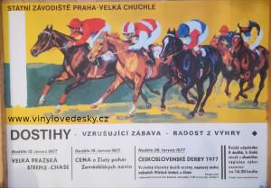 Plakáty koně, malované