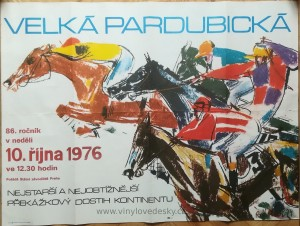 Plakáty koní, malované