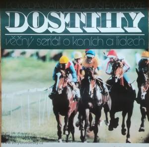 plakáty koní, roviné dostihy