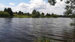 Pronájem chaty u vody Jesenice - přehrada, molo, zátoka