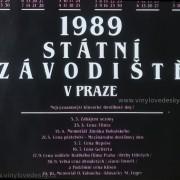Kalendář-plakáty koní-koně,klusaci-dostihy-1989