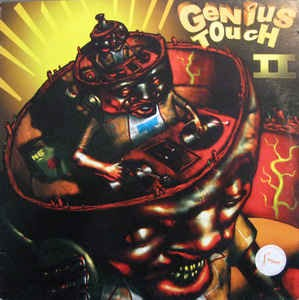 DJ Crazy B, Faster Jay-Genius Touch 2. Vinyl-cover