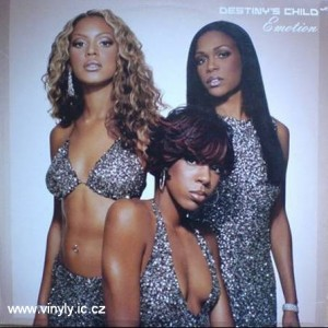 Destinys Child-Emotion vinyl-rmx. Cover - obal vinylové desky s remixy tracku Emotion.