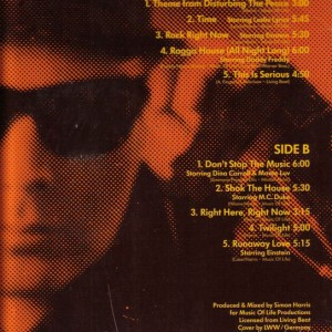 Simon Harris-Disturbing The Peace. Vinyl desky.