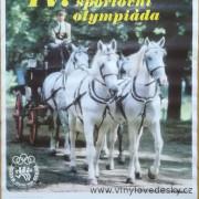 Plakáty koně-spřežení-čtyřspřeží-koní, Louny